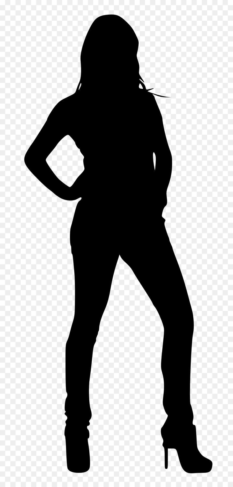 900x1880 Silhouette Woman Clip Art