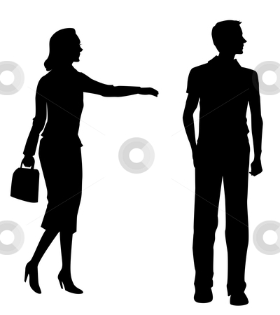 400x450 Free Human Silhouette, Hanslodge Clip Art Collection