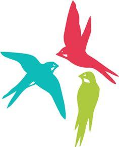 236x291 Hummingbird Silhouette