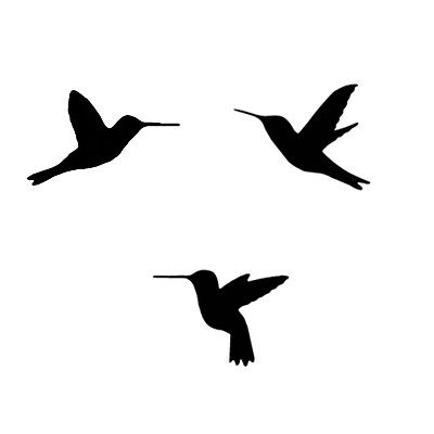 400x400 Hummingbird Stencils Hummingbird, Tattoo And Tatoos