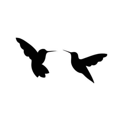 500x500 Tattoos For Hummingbird Silhouette Tattoo Www.getattoos.us