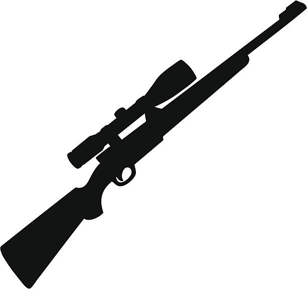 612x576 Rifle Clipart Silhouette