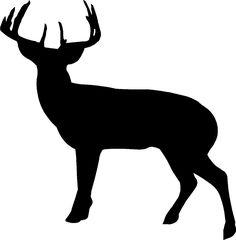 236x240 Deer Hunting Silhouette