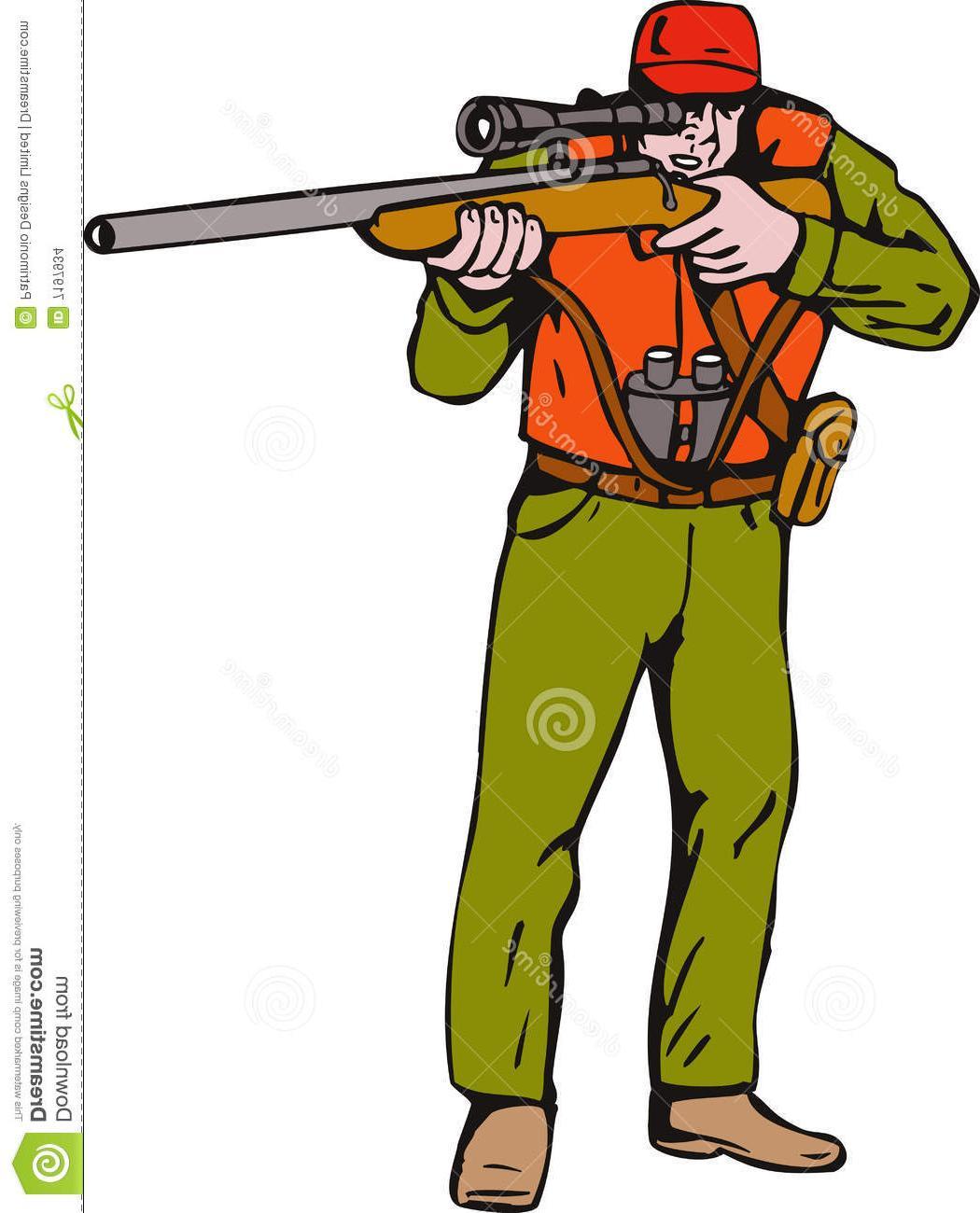 1050x1300 Hd Hunter Clipart Hunting Rifle Aiming Gun File Free
