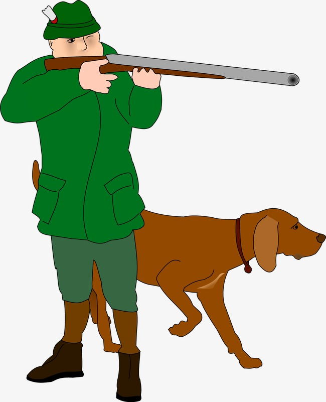 650x801 Hunters With Dogs Vector, Hunter, Hound, Hunt Png And Vector