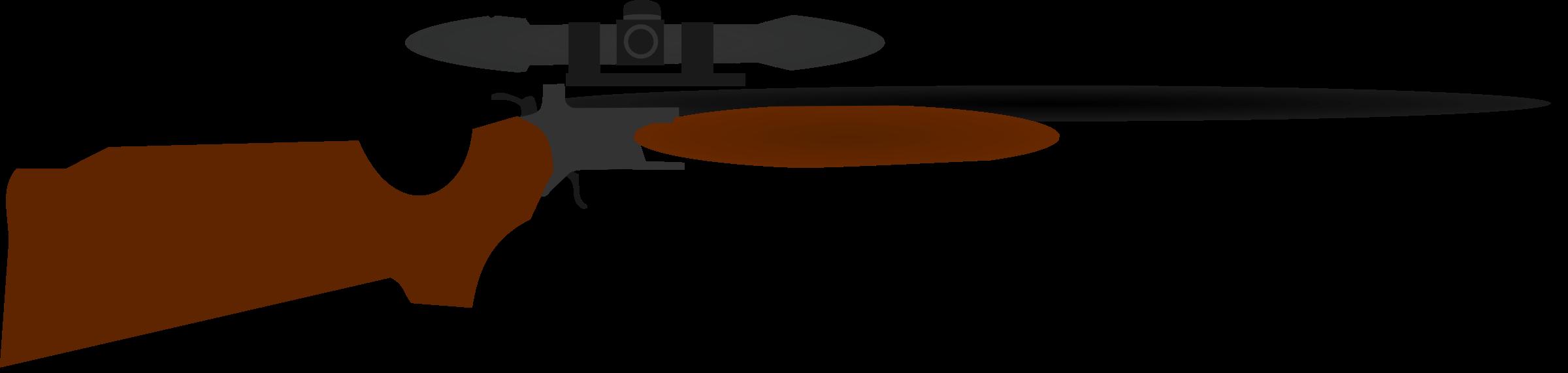 2400x571 Sniper Clipart Hunter