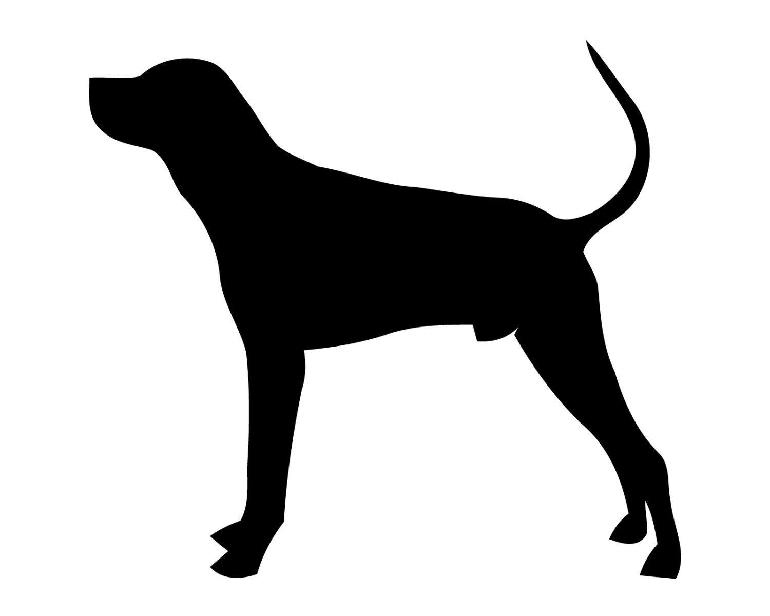 1500x1200 Hunting Dog Decal Geese Hunting Sticker Hunting Dog