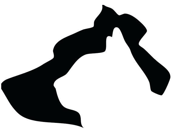 570x456 Dog Silhouette Clip Art