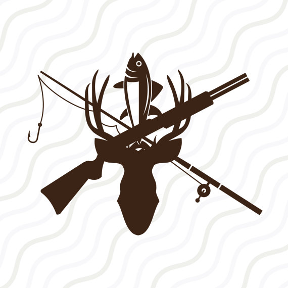 570x570 Hunting And Fishing Svg Hunting Clipart Hunting Svg Cut