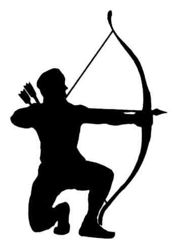 346x490 Hunting Bow And Arrow Clip Art Clipart Collection