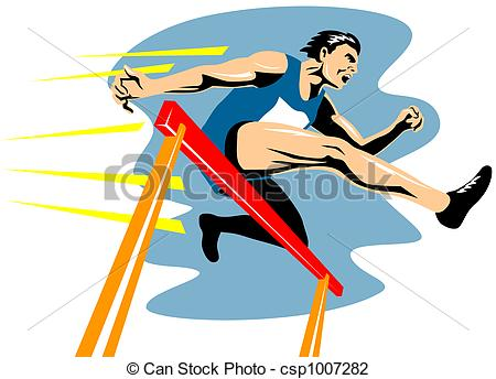 450x344 Jumping Hurdles Illustrations And Stock Art. 1,201 Jumping Hurdles