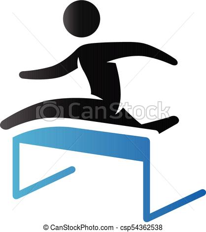 418x470 Hurdle Run Vector Clip Art Illustrations. 544 Hurdle Run Clipart