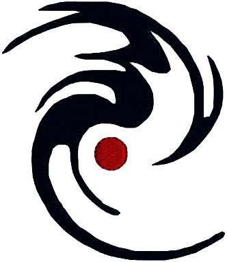 332x382 Mini Hurricane Symbol Weather Symbol By Designbythestitches