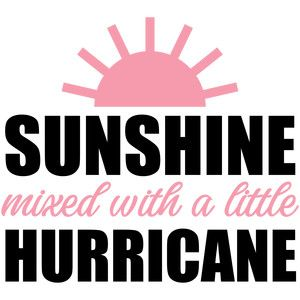 300x300 Sunshine Mixed With A Little Hurricane Silhouette Design