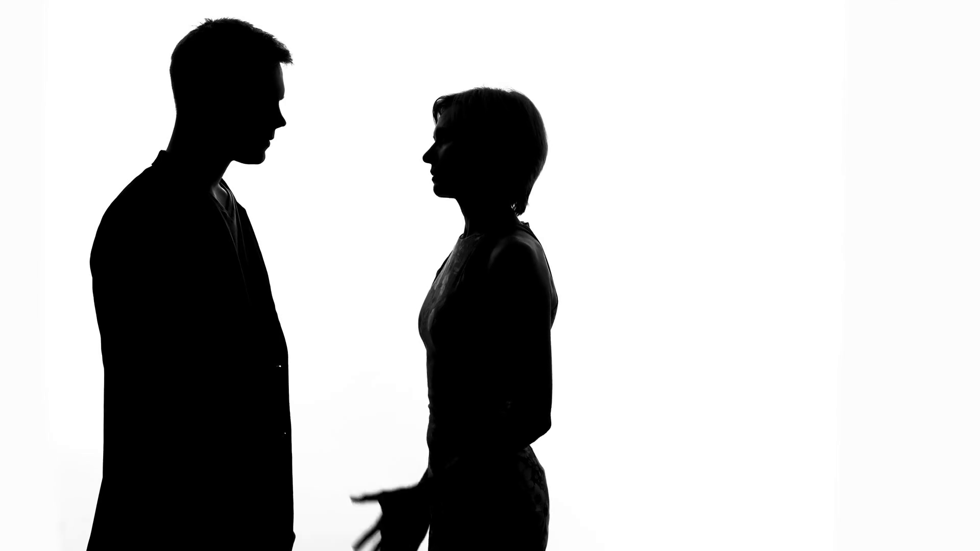 1920x1080 Husband Stopping Wife From Walking Away During Conversation