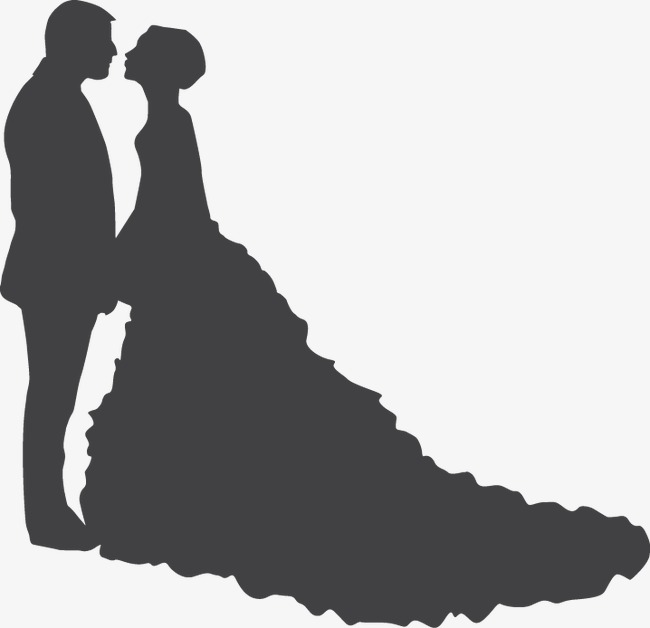 650x628 Wedding Silhouette, Sweetheart, Love, Husband Wife Png