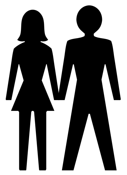 436x600 Man Woman Couple Silhouette Images Bulles