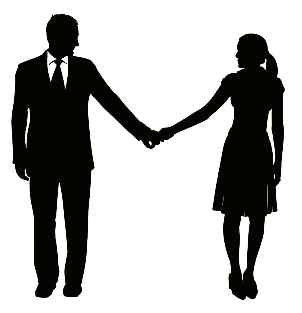 1000x1037 Husband And Wife Holding Hands Clipart