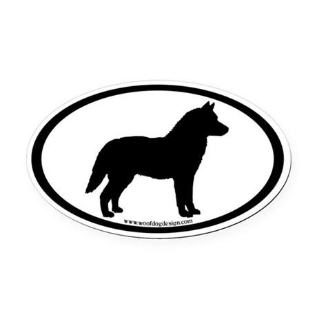 460x460 Siberian Husky Car Accessories