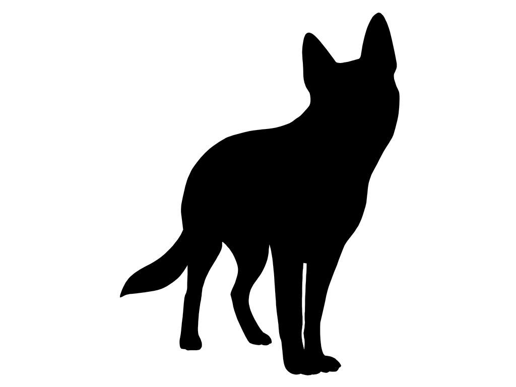 1024x768 Siberian Husky V2 Dog Breed Silhouette Custom Die Cut Vinyl
