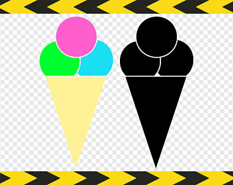 340x270 Ice Cream Cone Svg Etsy