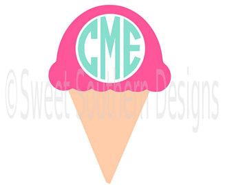 340x270 Ice Cream Silhouette Etsy