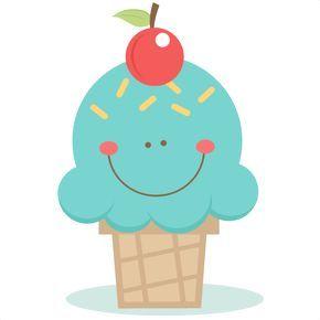 290x290 Cute Ice Cream Cone Svg Scrapbook Cut File Cute Clipart Files
