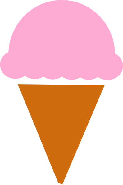 396x595 Ice Cream Silhouette Clip Art
