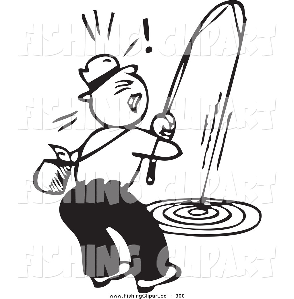 1024x1044 Fisherman Clipart Fishing Reel