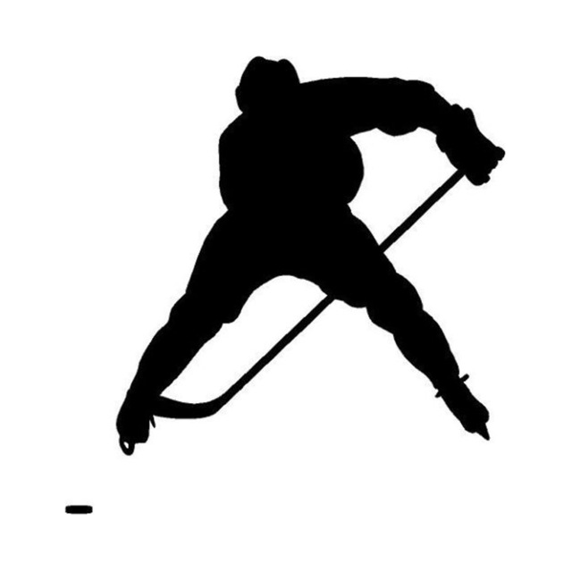 Ice Hockey Goalie Silhouette