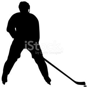 300x300 Ice Hockey Player Stock Vectors