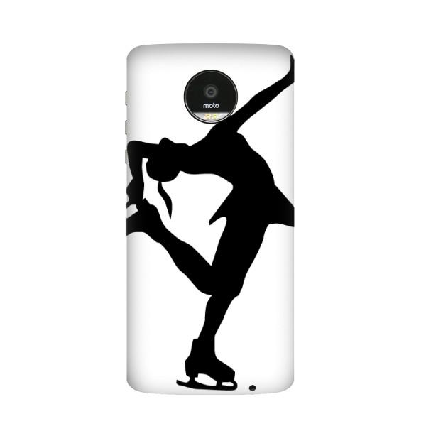 600x600 Winter Sport Female Dance Figure Skating Silhouette Pattern
