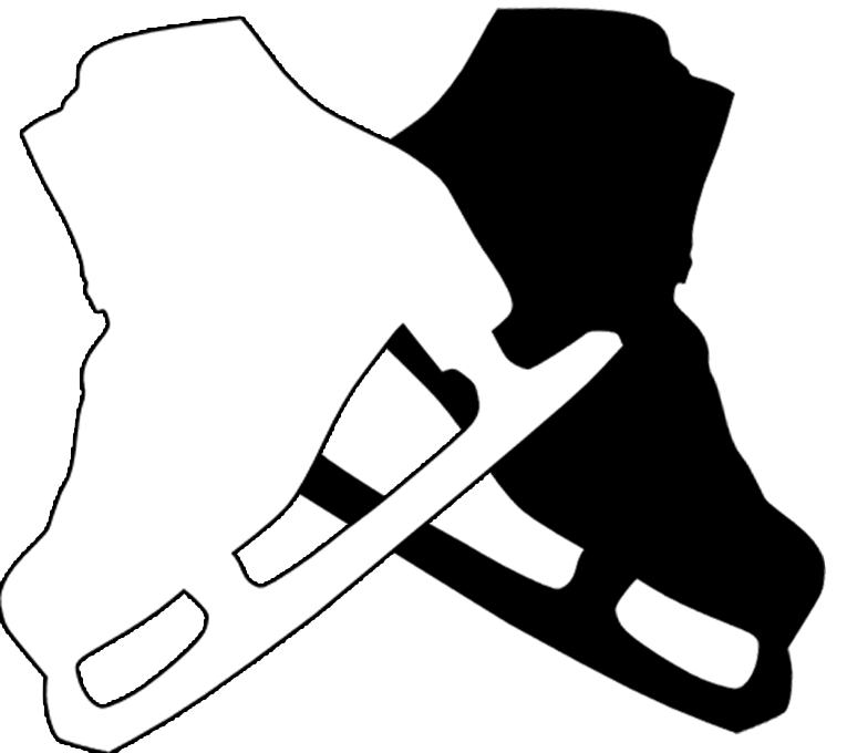 ice skaters silhouette at getdrawings com free for personal use rh getdrawings com  ice skating clipart black and white