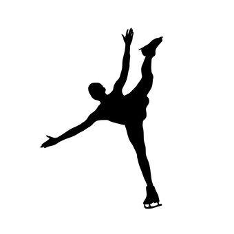 340x340 Free Silhouettes Ice Dance, Athlete