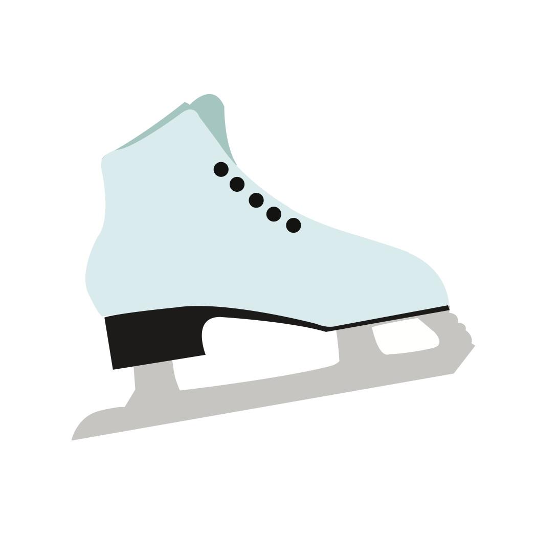 1050x1050 Free Svg File Download Figure Skate Beaoriginal