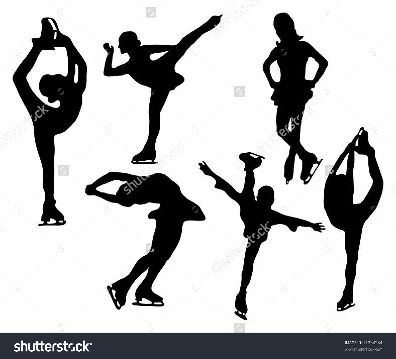 1500x1360 Figure Skating Poses Clipart Clipartxtras sample of line graph how