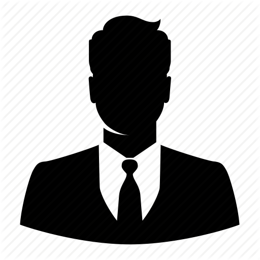 512x512 Avatar, Business, Businessman, Male, Man, Silhouette, User Icon