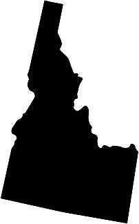 Idaho Silhouette