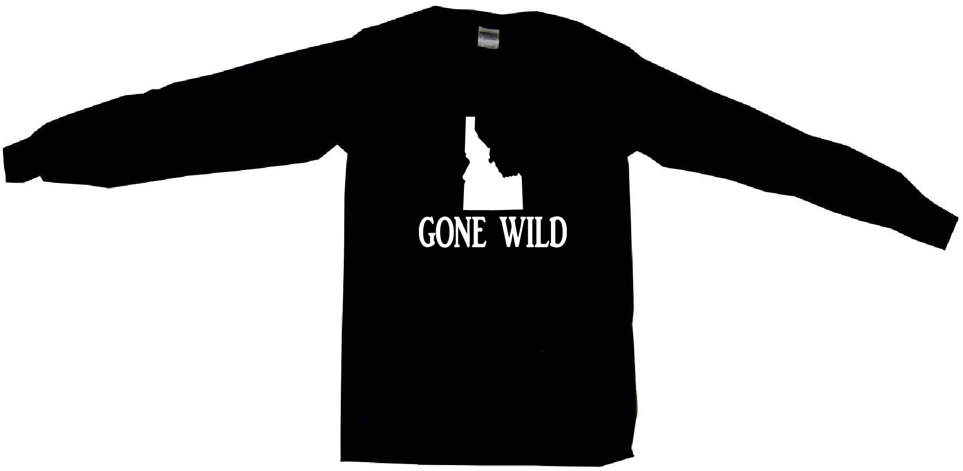 1947x953 Idaho Silhouette Gone Wild Mens Tee Shirt Pick Size Amp Color Small