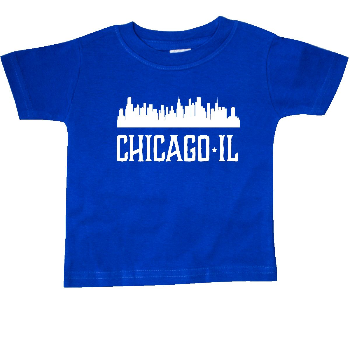 1200x1200 Inktastic Chicago Illinois Skyline Il Cities Baby T Shirt