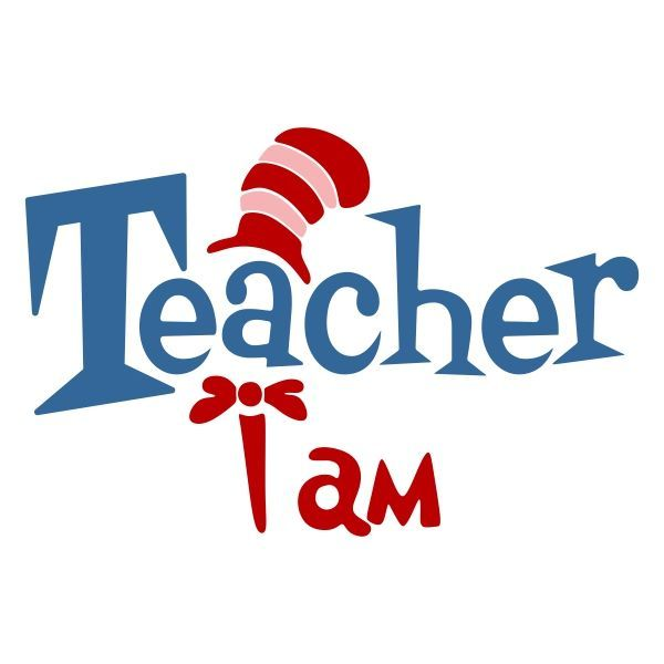 600x600 Teacher Cuttable Design Cut File. Vector, Clipart, Digital