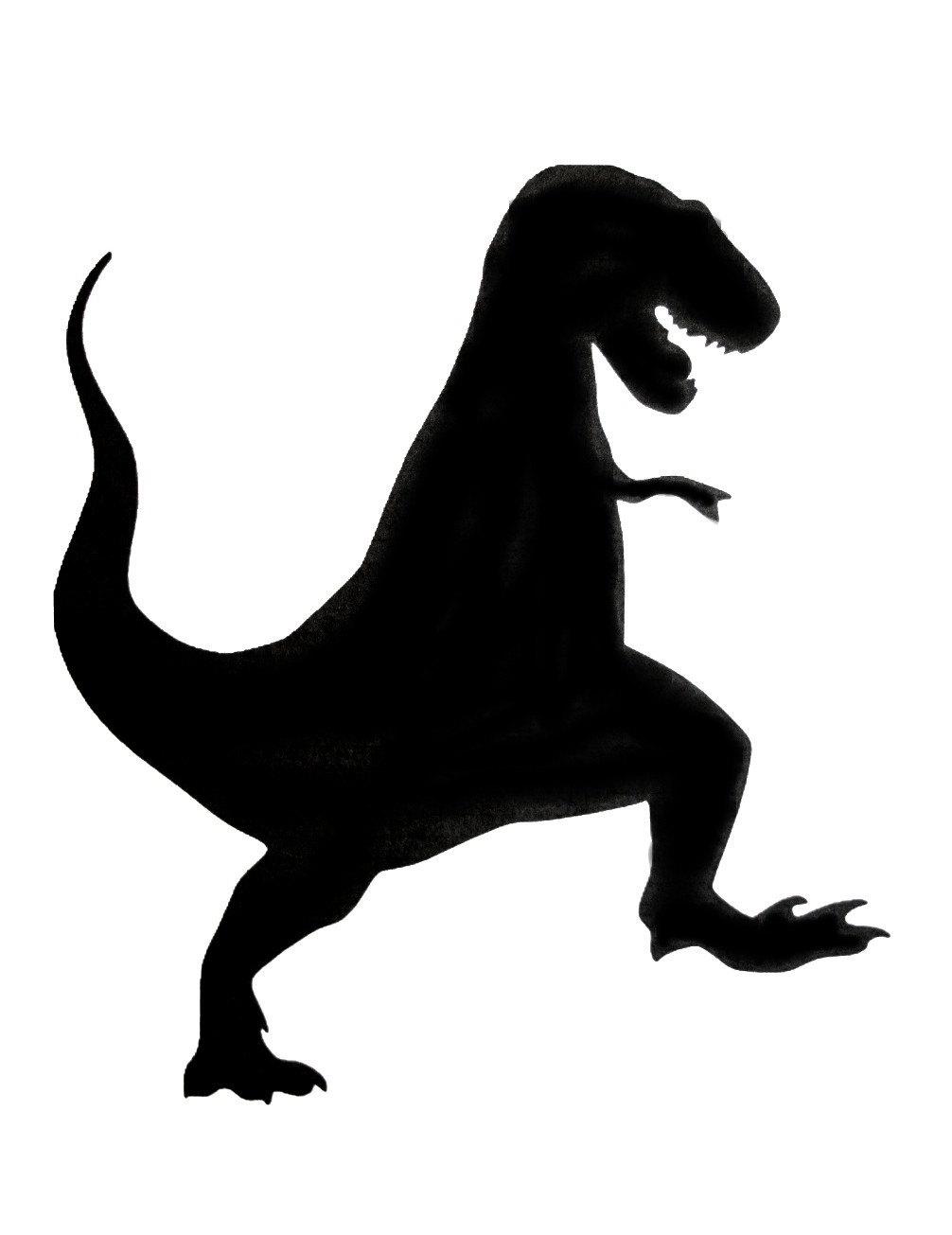 1006x1305 Dinosaur Silhouette Clipart 53 Simple T Rex Robertjhastings Net