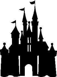 200x269 Disney Castle Silhouette Clip Art