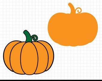 340x270 Pumpkin Svg Pumpkin Cut File Silhouette Cut File Cricut Cut