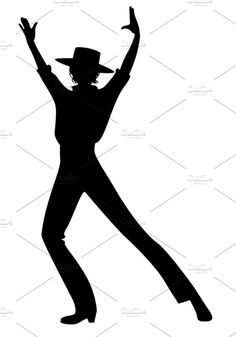 236x337 Stylized Silhouettes Of Female And Male Flamenco Dancers Easter