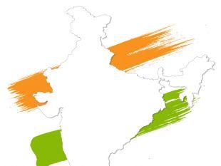 310x233 India Vector Map Free Vectors Ui Download