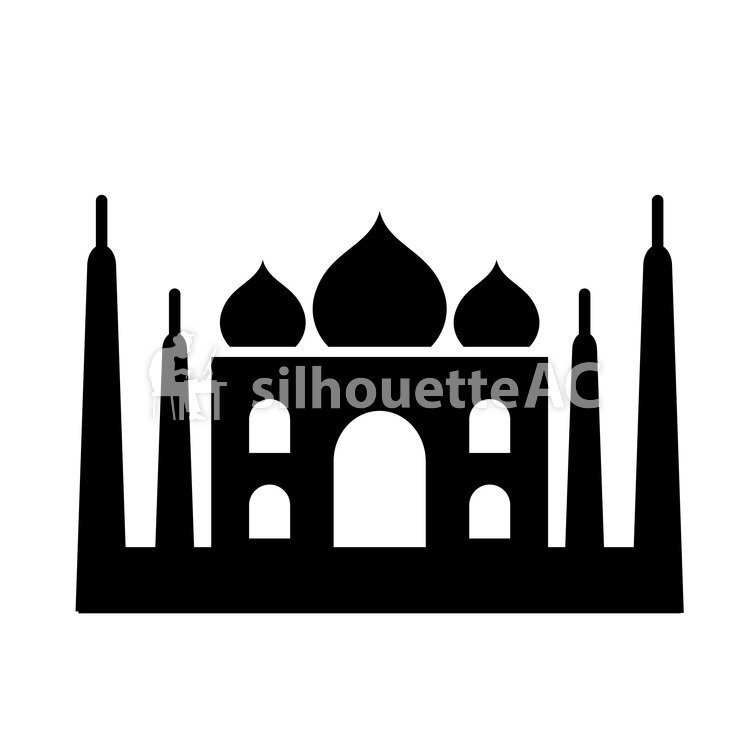 750x750 Free Silhouette Vector Icon, India, Simple
