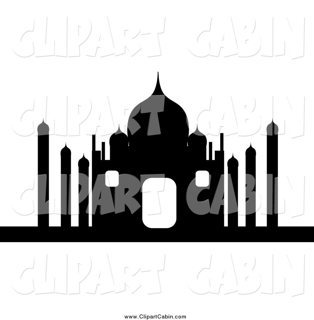 1024x1044 Taj Mahal Silhouette Clipart