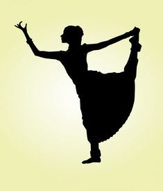 235x275 A Dancer's Silhouette, From Simply Silhouettes
