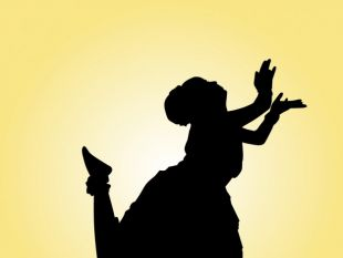 310x233 Indian Dancing Silhouette Free Vectors Ui Download